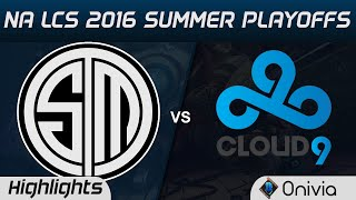 TSM vs C9 Highlights Game 2 NA LCS 2016 Summer Playoffs Finals Team Solo Mid vs Cloud9