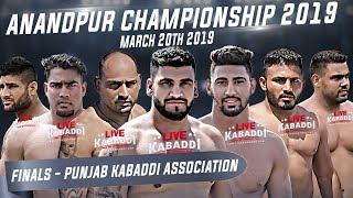 LIVE Anandpur Sahib Championship 2019 Punjab Association Academy