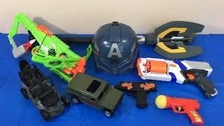 Box of Toys Toy Guns NERF Guns Military Vehicles Army Toys Kids Fun Toys for Kids