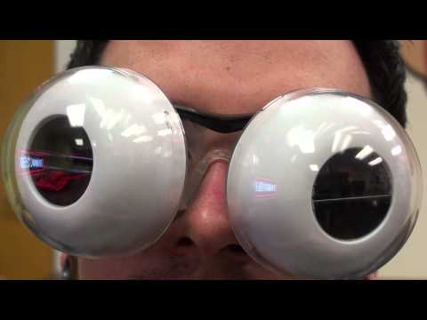 Japanese Electronic Blinking Eyeballs from ThinkGeek