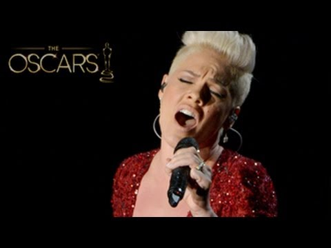 Oscars 2014: Pink Performs 'Somewhere Over The Rainbow' - Mind Blowing Performance