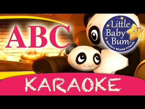 Karaoke: Abc Song   Alphabet Song - Instrumental Version With Lyrics Hd video