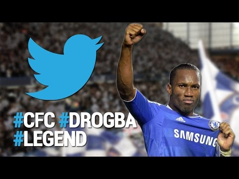 Chelsea Fans Twitter Reactions On Drogba's Return To Stamford Bridge