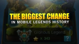 THE BIGGEST CHANGE IN MOBILE LEGENDS HISTORY
