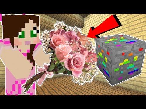 Minecraft: JEN'S PINK MOD!! (RAINBOW ORE, PINK ORE, & CUTE WEAPONS!) Mod Showcase