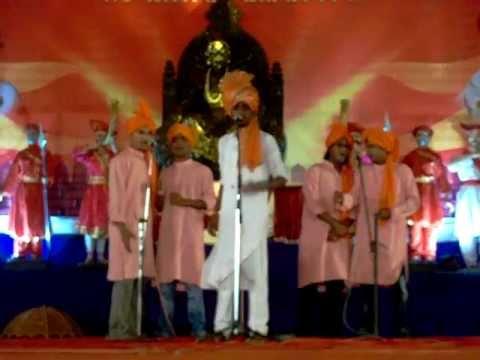 Shirish pawar- me shivaji raje bhosale boltoy powada...