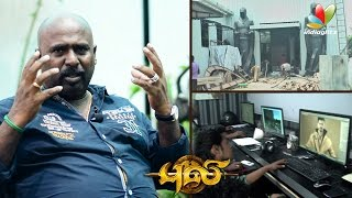 Puli Making : Lilliput character designing was very tough – T. Muthuraj Art Director Interview