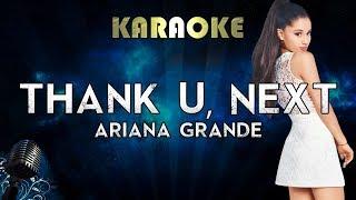 Ariana Grande Thank U Next Karaoke Instrumental