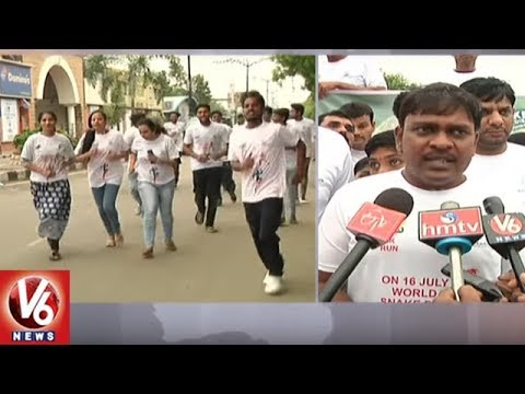 World Snake Day: Snake Buddies Foundation Conducts 2K Run To Save Snakes | Hyderabad | V6 News