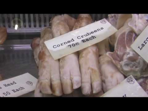 Traditional Irish food, Cork Market, Ireland