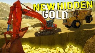 NEW SECRET HIDDEN GOLD DEPOSITS? Gold Claim Update - Gold Rush Full Release Gameplay
