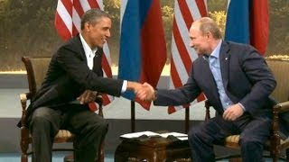 President Obama's Bilateral Meeting with President Vladimir Putin of Russia  6/18/13