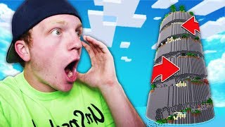 WORLD'S LONGEST MINECRAFT PARKOUR COURSE!