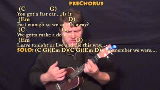 download lagu Fast Car Tracy Chapman Ukulele Cover Lesson  Chords/ gratis