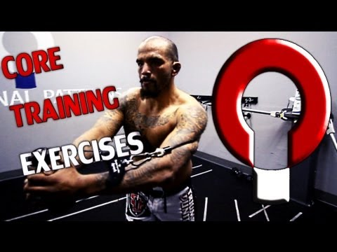 Core Training Exercises-  Training Rotation with UFC fighter Joey Beltran
