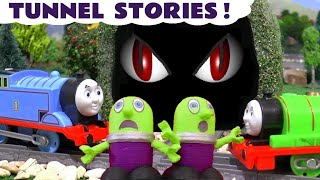 Thomas and Friends Tunnel Pranks with Toy Trains and the Funny Funlings for kids TT4U