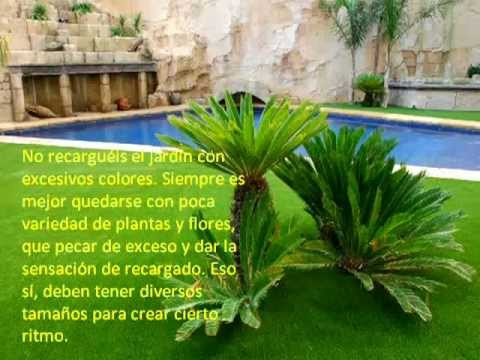 Decorar un jard n con plantas youtube for Decoracion de jardines con plantas
