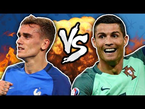 Cristiano Ronaldo vs. Antoine Griezmann - The FINAL Rematch! | Winners & Losers
