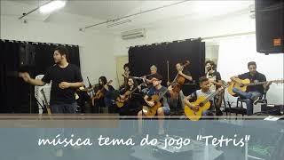 """58º Sarau Arte Buriki - Orquestra Cordas da Cultura - música tema """"Tetris"""" (1ª parte)"""
