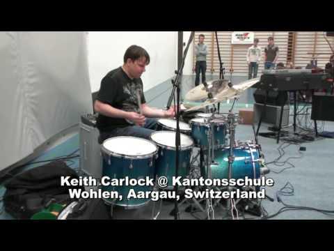 Keith Carlock Drumsolo @ Kantonsschule Wohlen, Aargau, Switzerland