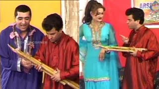 Ganna Chupoo | Zafri Khan | Saima Khan | Tariq Teddy - Comedy Stage Drama Clip