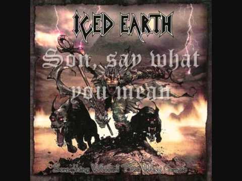 """Stand Alone"" - Iced Earth (Lyrics Video)"