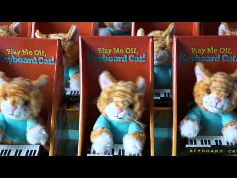 An Army Of Keyboard Cat Toys!