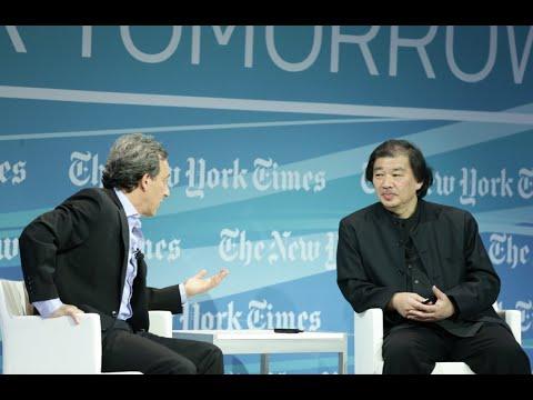 Shigeru Ban, 2014 Pritzker Prize-winning architect at Cities for Tomorrow 2014
