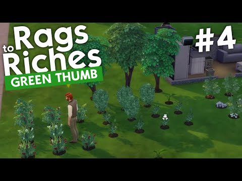The Sims 4 - Rags to Riches: Green Thumb (Part 4)