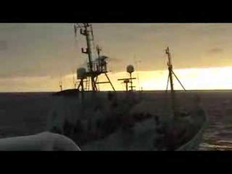 Sea Shepherd Attacks Japanese Whaling fleet.  Feb 09, 2007/C