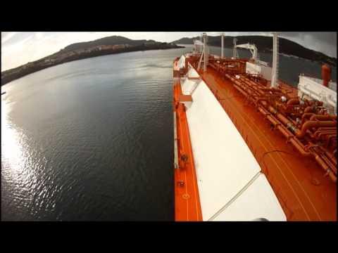HarbourPilot - Navigation and Berthing at Reganosa LNG, Ferrol, Spain