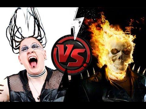 EXTIZE VS GHOST RIDER (Monster Bike Epic video)