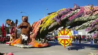 2016 Rose Parade Toho High School Float Nagoya Japan