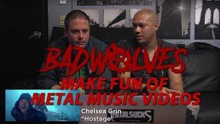 Download Lagu BAD WOLVES Make Fun of Metal Music Videos | MetalSucks Gratis STAFABAND