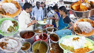 Cheapest Roadside Unlimited Meals #Healthy | Indian Street food | #Streetfood/A3