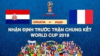BLV Quang Huy |  Nhìn lại hai trận bán kết và nhận định trước những trận đấu cuối cùng tại World Cup