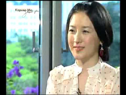 Jewel in the Palace star Lee young-Ae at Kapuso Mo Jessica Soho...