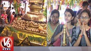 Shakambari Utsavalu Day 3rd In Jubilee Hills Peddamma Temple