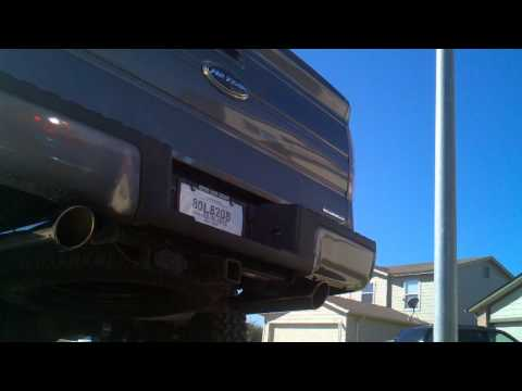 2011 Ford F150 5.0 w/magnaflow and no resonator
