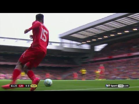 Daniel Sturridge vs Borussia Dortmund (Pre-Season 14-15) HD 720p