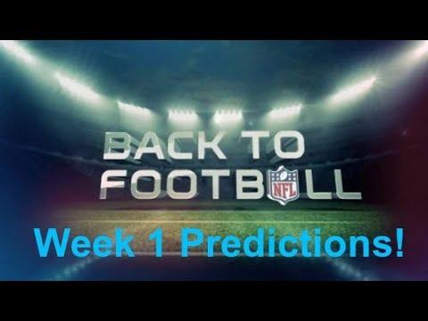 2017 Week 1 NFL Predictions