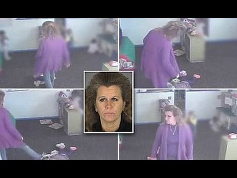 HORRIFYING VIDEO: Florida Daycare Worker REPEATEDLY KICKS Sleeping 15-Month Old Girl In The HEAD!!