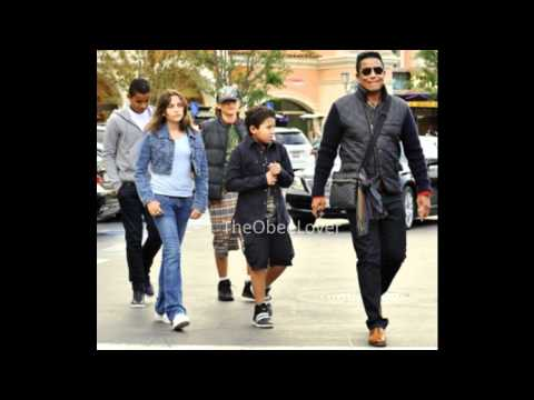 Prince and Paris at the movies with Jermaine and his kids! NEW Nov 7