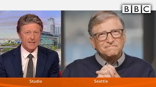 Video: Bill Gates: Vaccine for 7 Billion people gets us back the World we had before Coronavirus - BBC News
