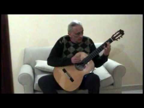 Francisco Tarrega - Capricho-Arabe guitar: Cesar Amaro