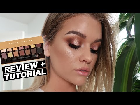 ABH SOFT GLAM PALETTE   Review + Tutorial