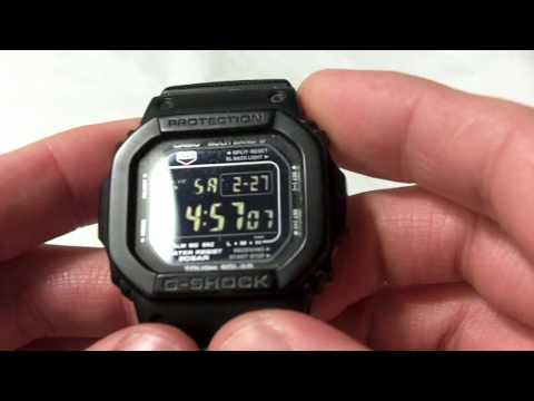 Casio G-Shock GW-M5600BC Video Review
