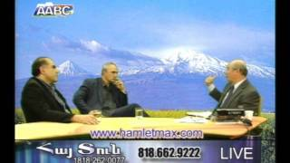 Tigran Khzmalyan (aka Xmalian) & Garegin Chugaszyan at AABC TV part 2