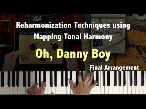 Oh Danny Boy Reharmonization using Mapping Tonal Harmony Pro. Music Theory Video