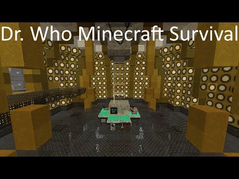 Dr Who Minecraft Survival Episode 1: The TARDIS